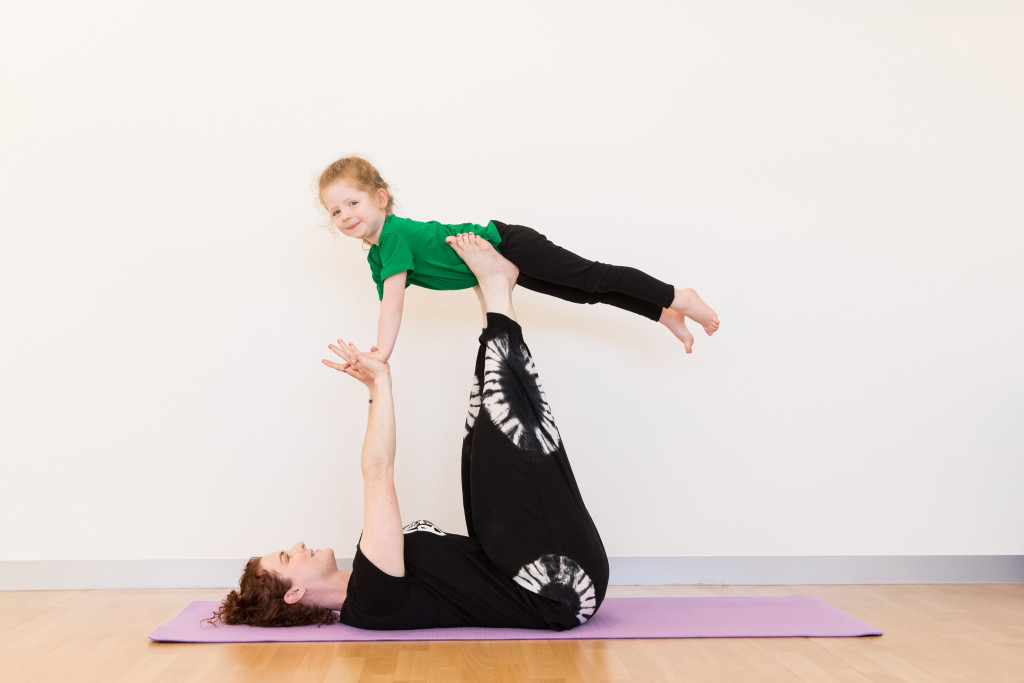 Happy Little Yogis with Aimee