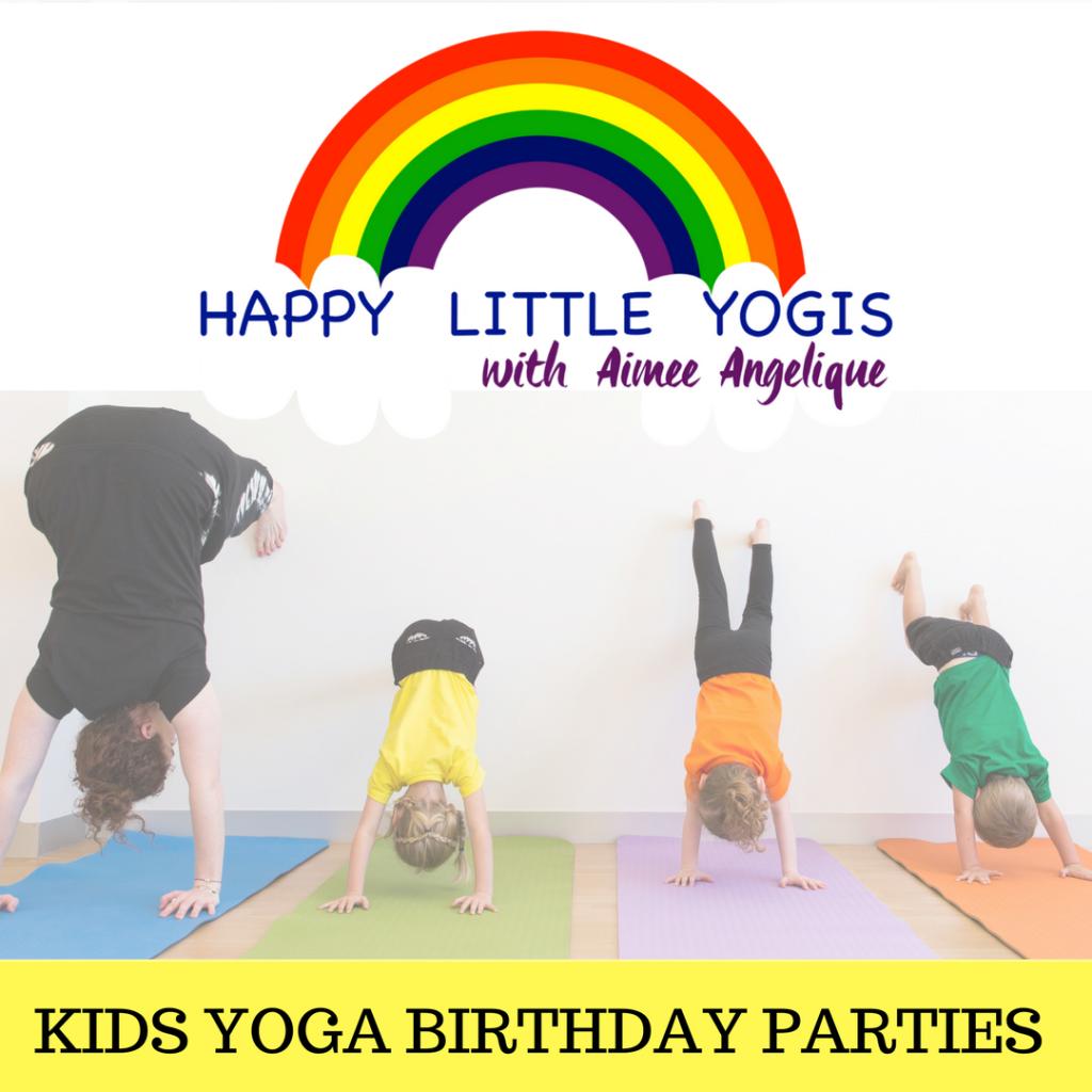KIDS YOGA BIRTHDAY PARTIES